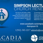 Simpson Lectures 2015