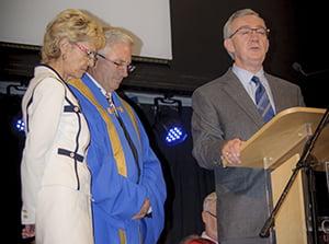 Fay Simmonds, Don Simmonds, Peter Reid