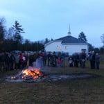Hanwell Community Church Mortgage Burning