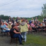 Bikers Hold Service at Little River