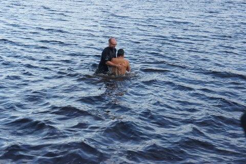 Esau baptism