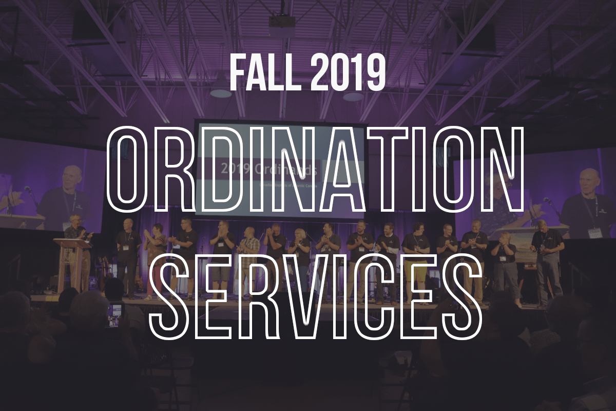 Celebrating Ordination Services in Fall 2019