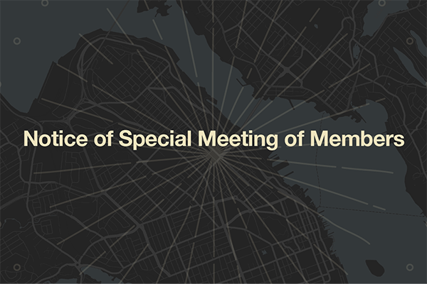 Notice of Special Meeting of Members of the Canadian Baptists of Atlantic Canada